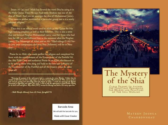 Mystery of the Shia set to be released Friday 6/7/13